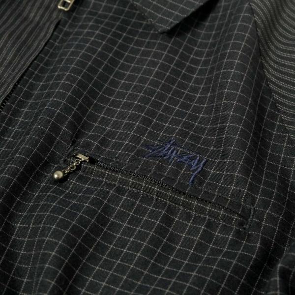 ステューシー ミックス アップ ブライアン ジャケット ネイビー メンズ/ジャケット/ブルゾン|rawdrip|04