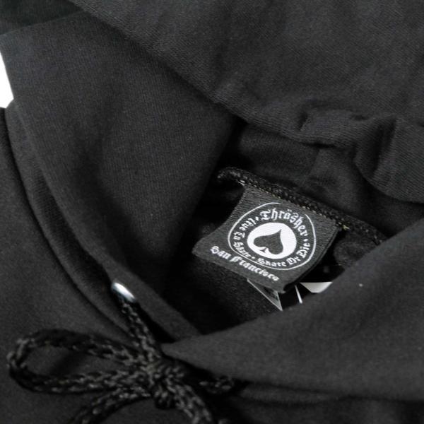 スラッシャー フレイム ロゴ  フーディー 全3色/メンズ/パーカー|rawdrip|05