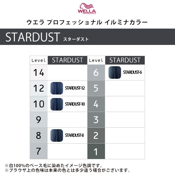 ウエラ プロフェッショナル イルミナ カラー 80g 1剤【STARDUST(スターダスト)】|カラー剤 ヘアカラー メール便対応4個まで|ray|02