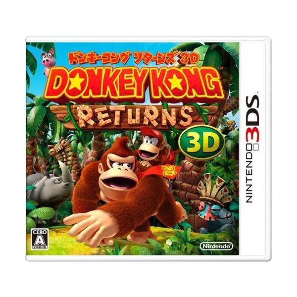 中古 3DS)ドンキーコングリターンズ3D 4902370520774