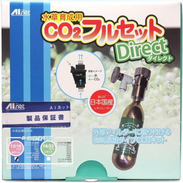 AIネット CO2フルセット ダイレクトM 12/16mm 全国送料無料!