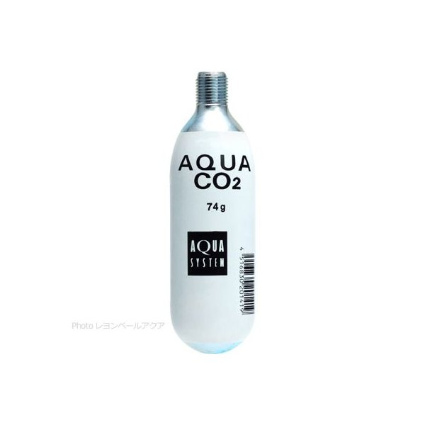 アクアシステム AQUA CO2ボンベ 74g (ネジ部分5/8in18UNF) (まとめ有)
