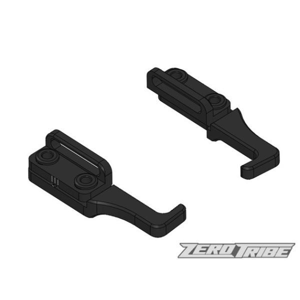 ZEROTRIBE ZT1001 アジャスタブルバッテリーホルダー (XRAY T4用 ブラック)|razikonwebshop