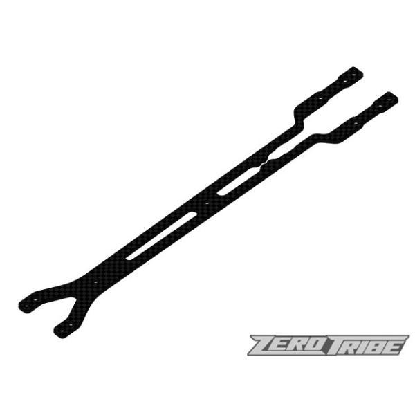 ZEROTRIBE ZT1007 カーボンアッパーデッキ2.0mm(XRAY T4 '18用)|razikonwebshop