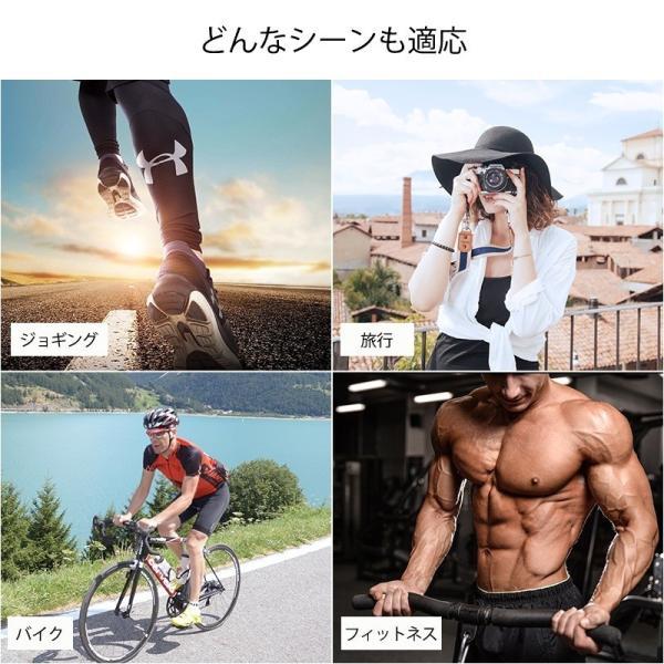 ワイヤレスイヤホン 高音質Bluetooth IPX5防水防汗 運動式 ノイズキャンセリング マグネット搭載 イヤフォン リモコン 日本語説明書あり|rc-genki-shop|09