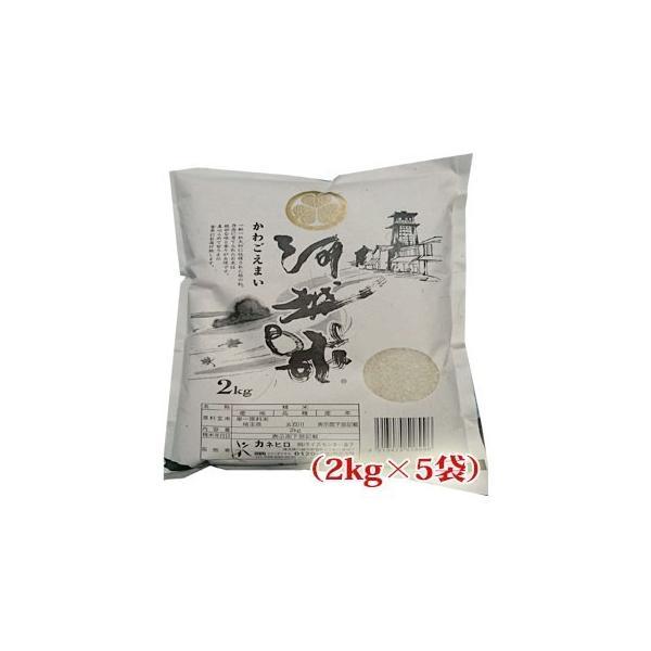 米 お米 10kg(2kg×5) 白米 五百川 30年産 埼玉県産  |rc-kaneko|02