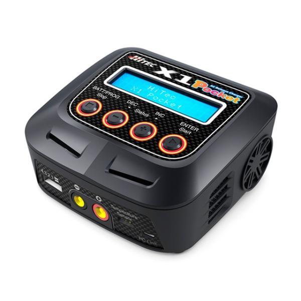 (数量限定特価)ハイテック/44241/AC Balance Charger X1 Pocketバランサー内蔵・オールマイティ多機能 充・放電器|rc-yumekukan|02