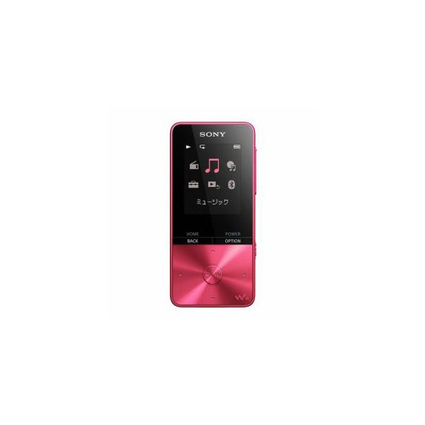 ソニー NW-S315-P ウォークマン Sシリーズ メモリータイプ 16GB ビビッドピンク 代引不可
