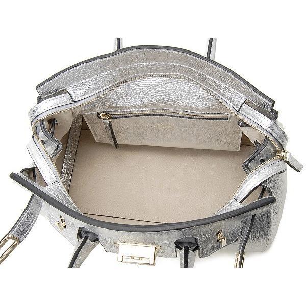 ジェンリゴ ハンドバッグ 65000SALC ARGERC JENRIGO レザー トートバッグ シルバー 新品