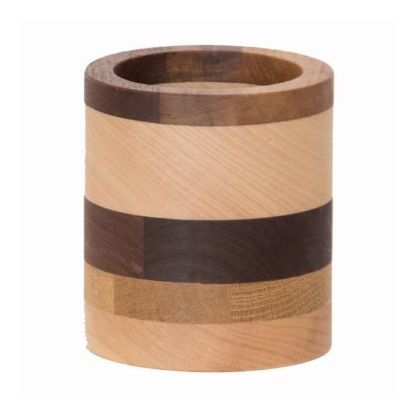 Latree ラトレ DENシリーズ 無垢のペン立て 丸型 天然木 無垢 木製 オイル仕上げ 高級感 飛騨家具 株式会社HIDAKAGU