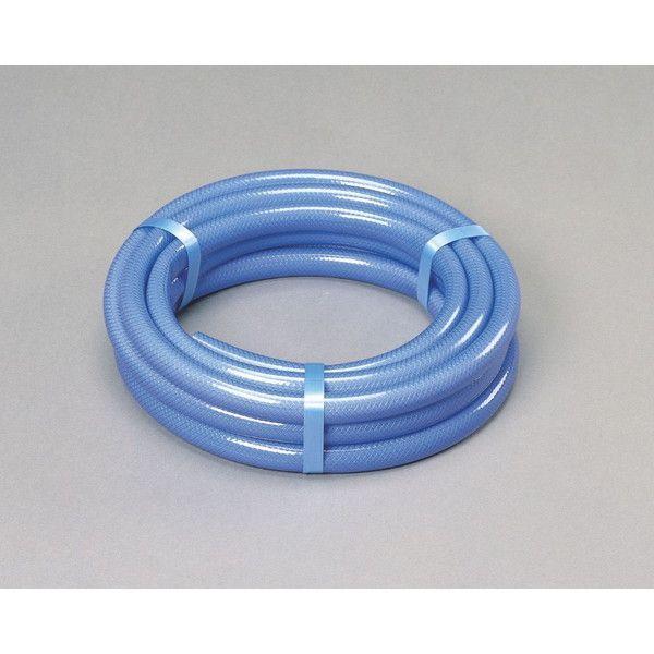 アイリスオーヤマ 耐圧糸入りカットホース 1m〜50m カットホース ブルー 10m