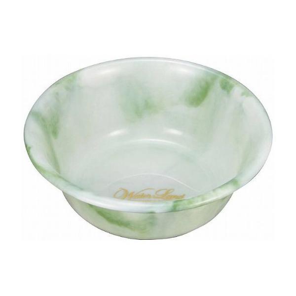 ウォーターランド 湯桶ED グリーン 日本製 お風呂 風呂桶 バス用品