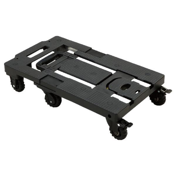 可変式台車 トランストローリー Ho-00192 軽量 3.7kg 台車 ハンドカート コンパクト ゴムロープ付き 代引不可
