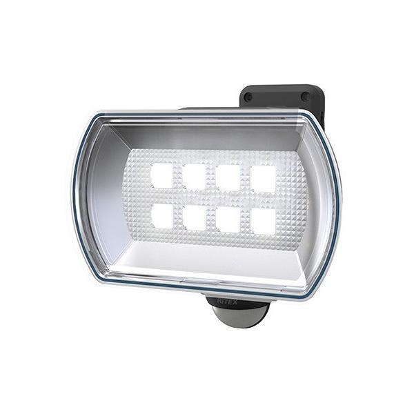 ムサシ RITEX ライテックス LED乾電池センサーライト 4.5Wワイド 白熱球60W相当 フリーアーム式 LED-150
