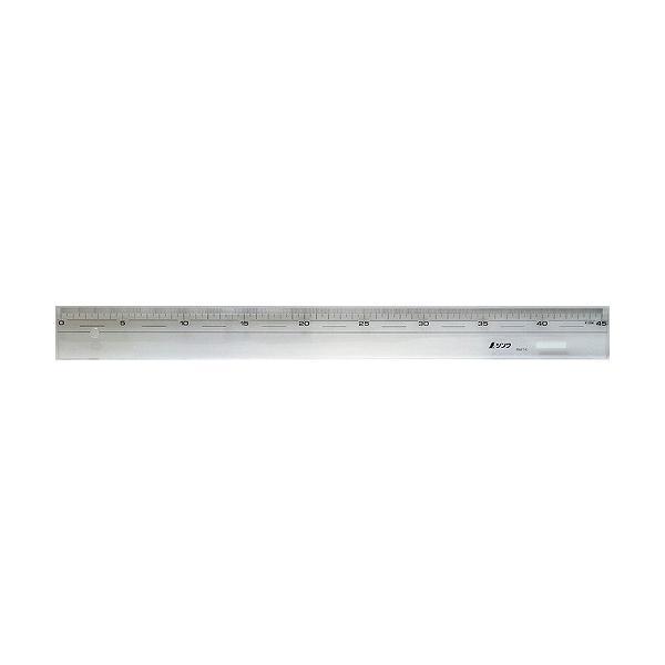 シンワ測定 直定規 アクリル製 45cm 75329