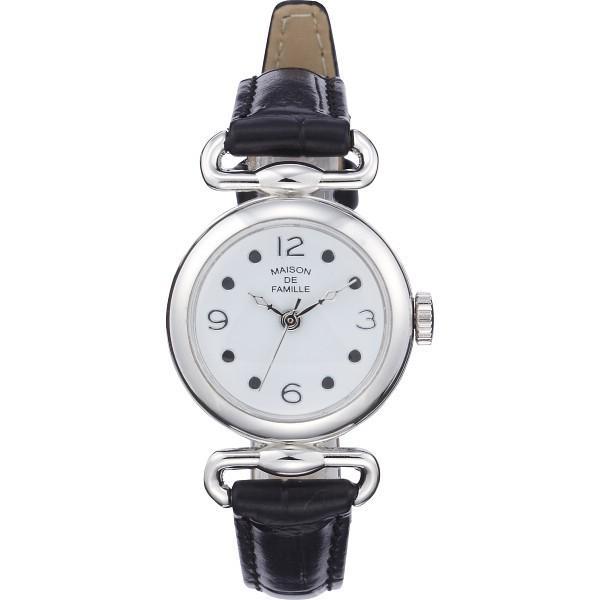 メゾン ドゥ ファミーユ レディス腕時計 ブラック 装身具 婦人装身品 婦人腕時計 MA-041B 代引不可