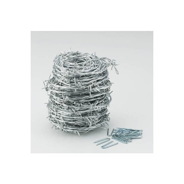 TRUSCO 有刺鉄線 1.9mmX100m TUW-20-100 建築金物・工場用間仕切り・針金