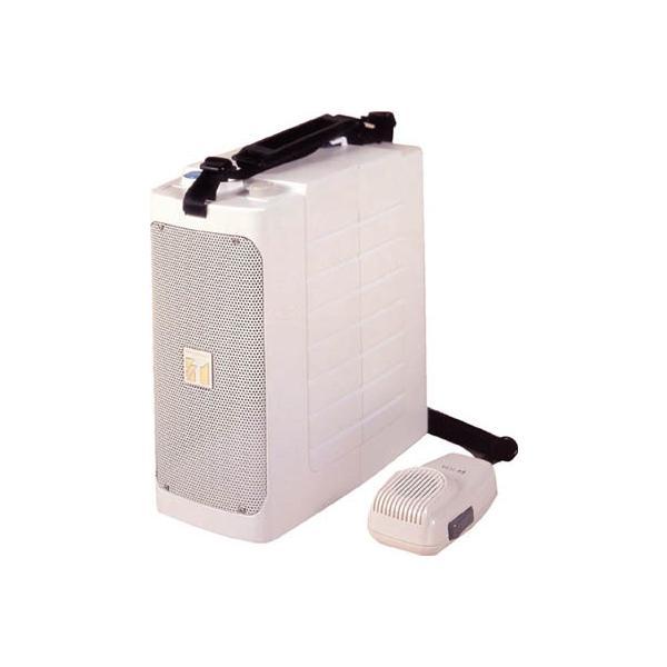 TOA ショルダー型コンパクトメガホン ホイッスル音付き ER-604W 安全用品・標識・拡声器