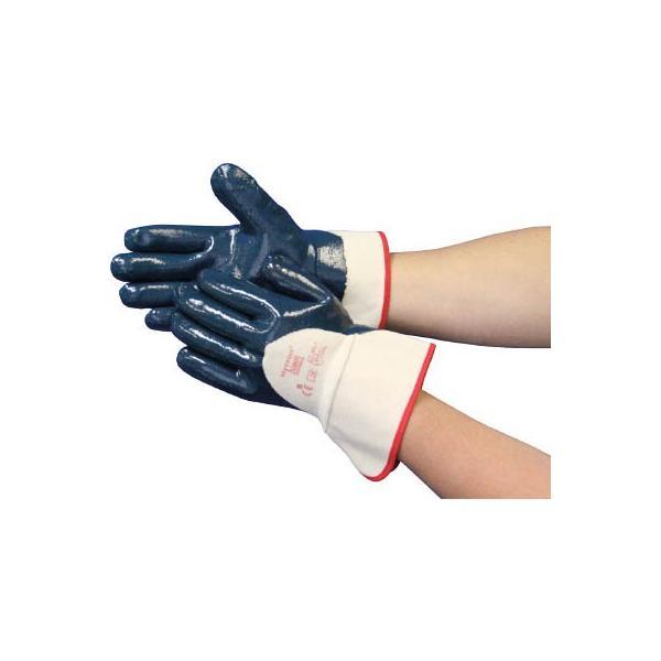 アンセル 作業用手袋 ハイクロン背抜きタイプ M 27-607-8 作業手袋・すべり止め背抜き手袋