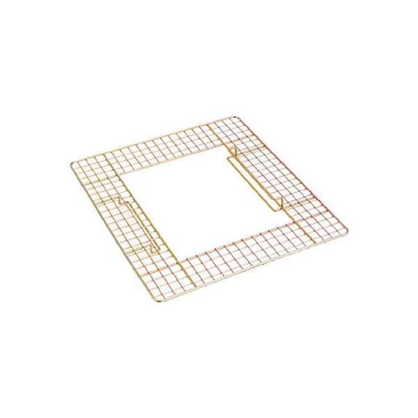 テラモト 吸殻入れ2用ワイヤーテーブル SS-258-500-0 清掃用品・灰皿