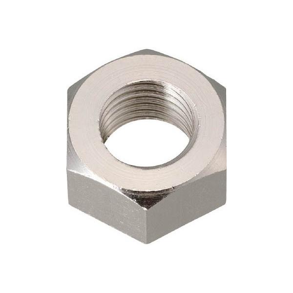 TRUSCO 六角ナット1種 真鍮ニッケル M20×2.5 2個入 B93-0020 ねじ・ボルト・ナット・ナット