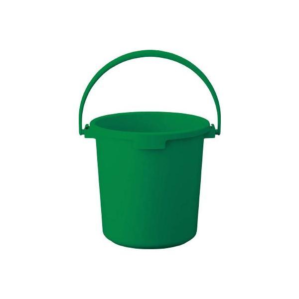 TRUSCO PPカラーバケツ 22L 緑 TPPB-22-GN 清掃用品・バケツ