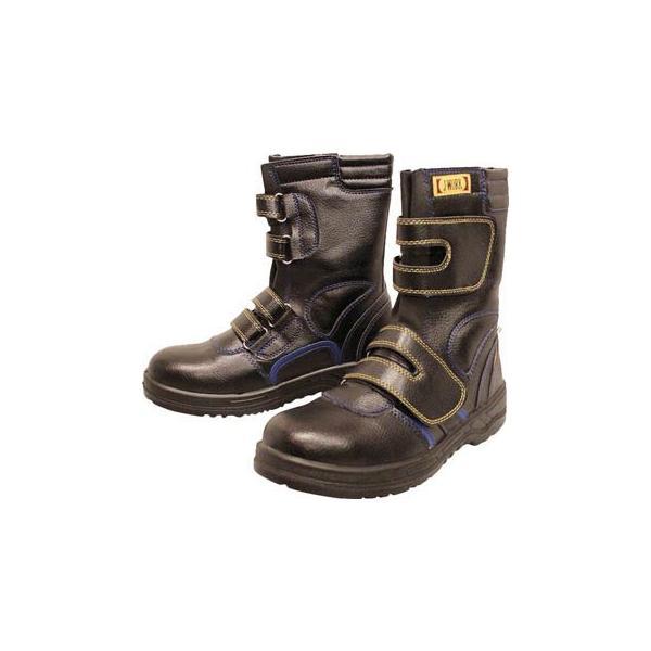 おたふく 安全シューズ静電半長靴マジックタイプ 26.5cm JW-773-265 安全靴・作業靴・プロテクティブスニーカー