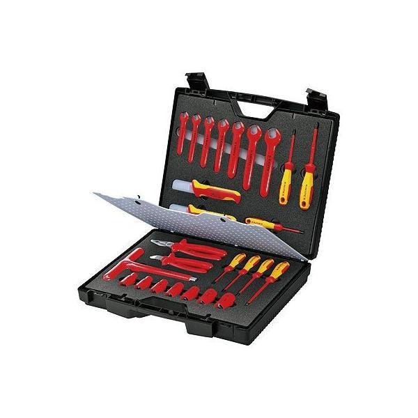 KNIPEX クニペックス 989912 絶縁工具セット 代引不可