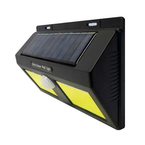 ソーラーセンサーライト ダブル K-240 ライト 防犯 屋外 センサー 代引不可