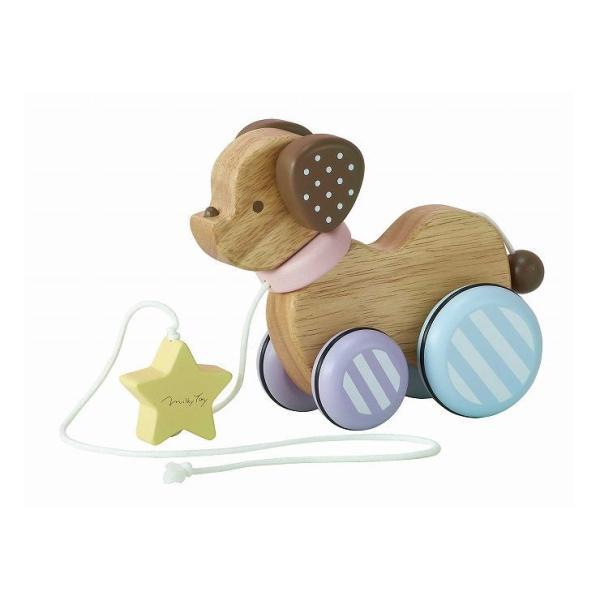 エドインター 初めてのおもちゃ ミルキートイ MilkyToy Candy Puppy -キャンディパピー