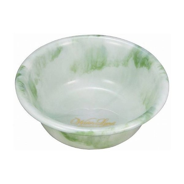 ウォーターランド 湯桶D グリーン 日本製 お風呂 風呂桶 バス用品