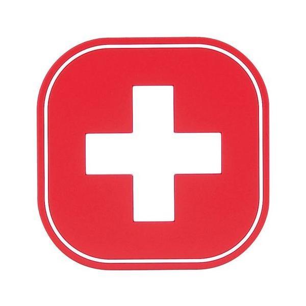 ワールドクリエイト フラッグコースター(6枚入) 59224 スイス PKCV412