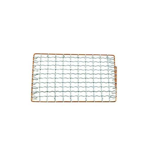 永田金網製造 飛騨コンロ用 亜鉛引金網 長角用 (280×145) QHD05008