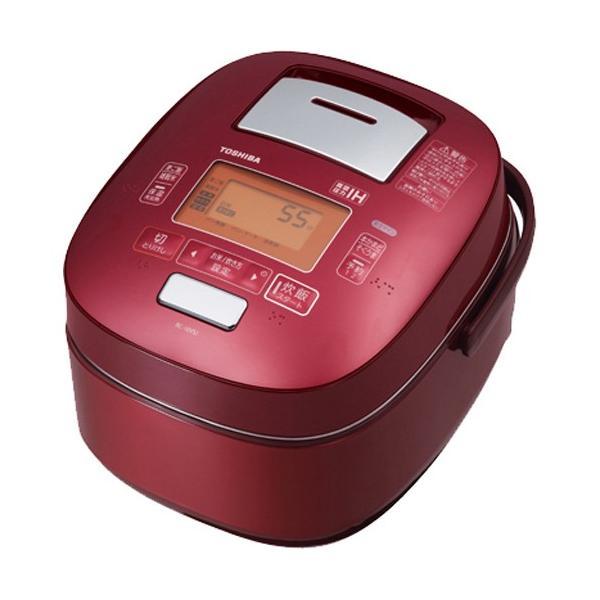 RoomClip商品情報 - 東芝 真空圧力IHジャー炊飯器 鍛造かまど銅釜 RC-18VSJ(R) グランレッド