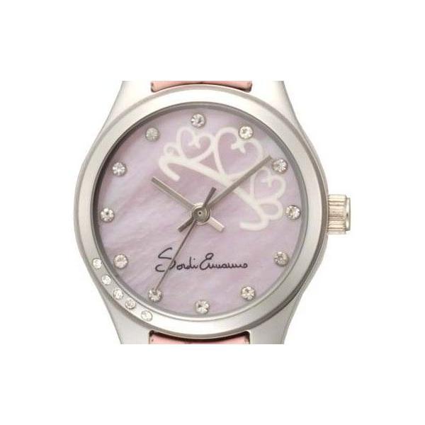 【SORDI ERMANNO】ソルディ・エルマーノ  レディース腕時計 ES-857L-4 アナログ表示 蓄光文字盤 3気圧防水 /20点入り(代引き不可)