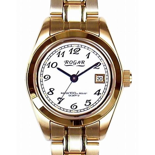 【ROGAR】ローガル レディース腕時計 RO-064LA-S 10気圧防水(日本製) /5点入り(代引き不可)