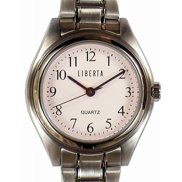 【LIBERTA】リベルタ レディース腕時計 LI-032L-WS 10気圧防水(日本製) /5点入り(代引き不可)