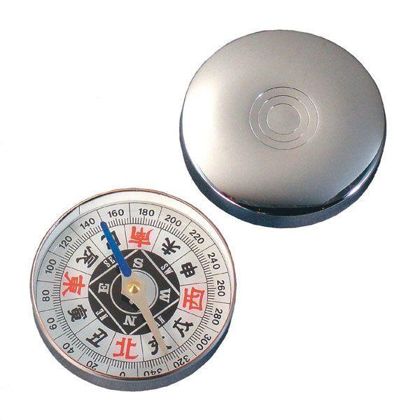 【MIZAR-TEC】ミザールテック ポケットコンパス ドライタイプ ラージサイズ シルバー 日本製 G-60 /100点入り 代引不可