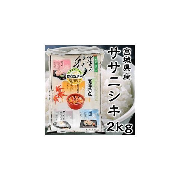令和2年度産 宮城県産 ササニシキ 2kg 特別栽培米 新米