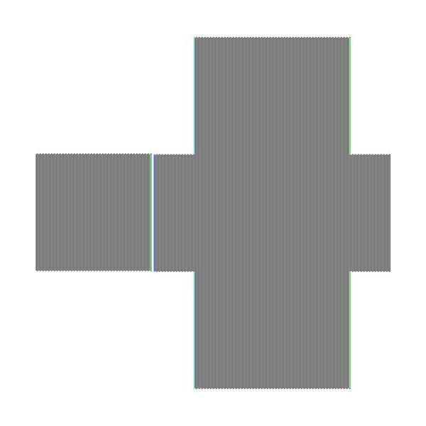 アークランドサカモト ヘルメット用ステッカー 緑十字 855