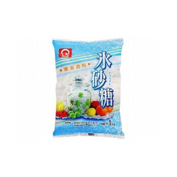 まとめ買い パールエース 氷砂糖 クリスタル 1Kg x10個セット 食品 業務用 大量 まとめ セット セット売り 代引不可