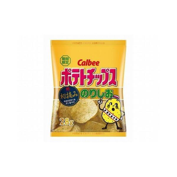 まとめ買い カルビー ポテトチップス のりしお 小袋 28g x24個セット 食品 セット セット販売 まとめ 代引不可