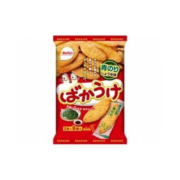 まとめ買い 栗山米菓 ばかうけ青のり 18枚 x12個セット 食品 セット セット販売 まとめ 代引不可