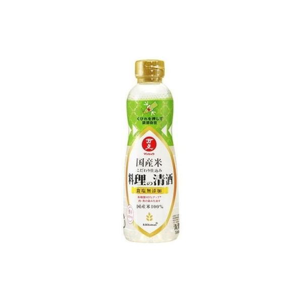 キッコーマン食品 株 万上 国産米こだわり仕込料理の清酒 500ml x1 代引不可
