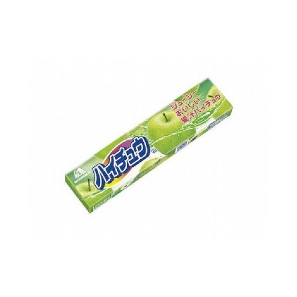 まとめ買い 森永製菓 ハイチュウ グリーンアップル 12粒 x12個セット まとめ セット まとめ販売 セット販売 業務用 代引不可