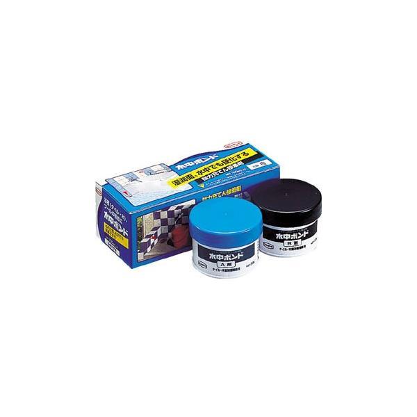 コニシ 水中ボンド 100gセット 箱 #16456 E380-100 接着剤・補修剤・水中用補修剤