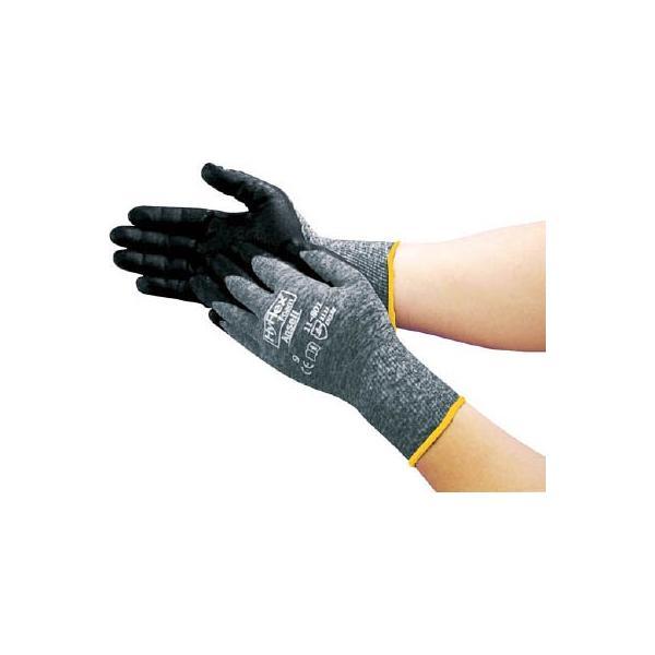 アンセル 軽作業用手袋 ハイフレックスフォームグレー L 118019