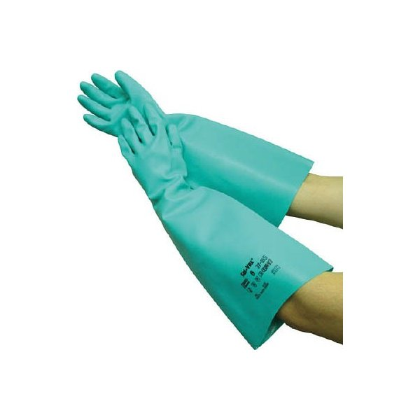 トワロン ソルベックス185 厚手ロング M 185-M 作業手袋・ニトリルゴム手袋