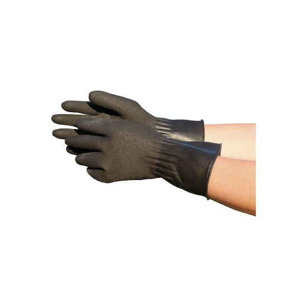 トワロン 黒潮 LL 211-2L 作業手袋・天然ゴム手袋