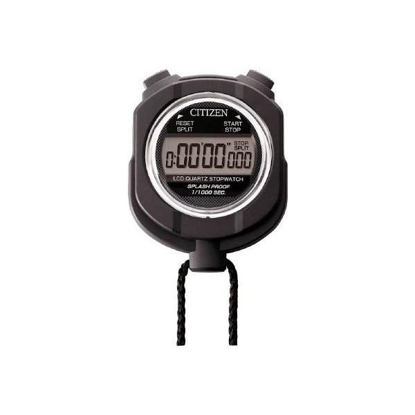 シチズン ストップウオッチ055 黒色 8RDA55-002 計測機器・ストップウォッチ・タイマー